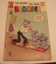 Buy Chic Young's Blondie Charlton Comics Vol. 6 No. 205 1973