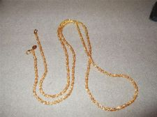 """Buy Sarah Coventry Jewelry..42"""" French Rope Necklace....#1056"""