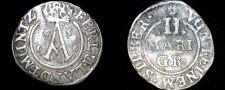 Buy 1656 German States Brunswick-Wolfenbuttel 2 Mariengroschen World Silver Coin