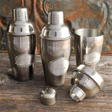 Buy Mixologist Cocktail Shaker w/Pewter Medallion - Free Personalization