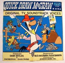 Buy QUICK DRAW McGRAW ~ Original TV Soundtrack Voices / rare 1960 LP