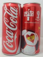 Buy COCA COLA COKE CAN THAILAND 325ML FIFA WORLD CUP BRAZIL COLLECT 2014 X 1 Can