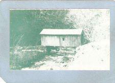 Buy New York Edinburg Covered Bridge Postcard Last Covered Bridge In Saratoga ~486