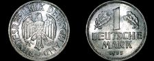 Buy 1955 G German 1 Mark World Coin -West Germany