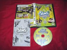 Buy THE SIMS 3 HIGH END LOFT STUFF PC & MAC DISC MANUAL ART & CASE MINT TO NEAR MINT