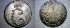 Buy 1759-ACB German States Brunswick-Wolfenbuttel 1 Mariengroschen World Coin