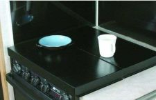 Buy Camco 43554 RV Motorhome Trailer Camper Universal Fit Stove Top Cover (Black)