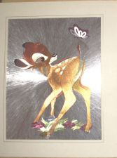 Buy Disney Bambi Lithograph
