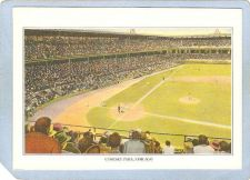 Buy Illinois Chicago Sport Baseball Non-Postcard Overhead View Of Comisky Park~101
