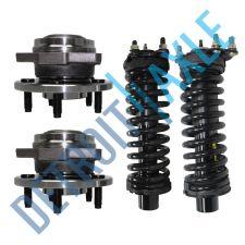 Buy Set: 2 FRONT Wheel Hub Bearing - No ABS + 2 Ready Strut - Liberty
