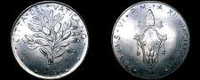 Buy 1974 Vatican City 50 Lire World Coin - Catholic Church Italy