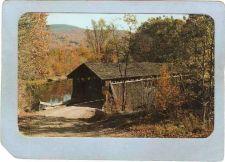 Buy New York Livingston Manor Covered Bridge Postcard Bridge At Beaverkill Cam~490