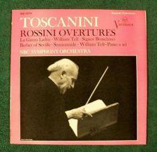 Buy TOSCANINI ~ Rossini Overtures Barber of Seville / William Tell + LP