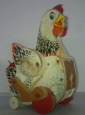 Buy Vintage Pull Toy- Cackling HEN