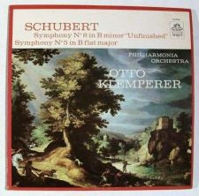 "Buy FRANZ SCHUBERT ~ Symphony No. 8 in B Minor ""Unfinished"" / Symphony No. 5 LP"