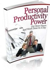 Buy Personal Productivity Power Ebook + 10 Free eBooks With Resell rights ( PDF )