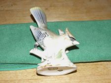 Buy Bird Figurine - Says Wales on Bottom