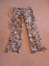 Buy No Boundaries Juniors 7 Camoflauge Cargo Pants CUTE!!!