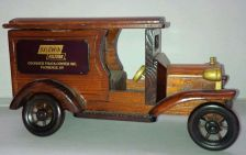 "Buy Wooden COLLECTABLE Truck (Advertisement Piece) 10"" *SEE PICS*"