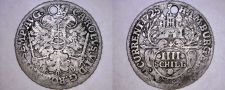 Buy 1725-IHL German States Hamburg 4 Schilling World Silver Coin - Holed