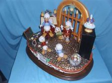 Buy Disney Uncle Scrooge Capodimonte Figurine C.O.A. Original Box Reconditoned
