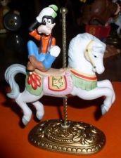 Buy Disney Goofy on a Carousel horse porcelain