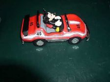 Buy Mickey Mouse convertible sports car numbered 45 Walt Disney toy