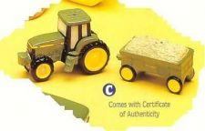 Buy Vintage set of tractor and comes with COA Porcelain Salt & Pepper original box