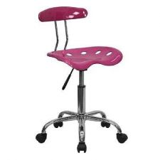 Buy Chair Seat Flash Furniture Pink Computer Drafting Cad Lab Task Office Bar Stool