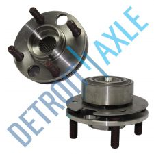 Buy Pair of 2 NEW Front Wheel Hub and Bearing Assembly - Non-ABS