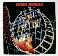 Buy KING KOBRA Thrill Of A Lifetime 1986 Glam Metal LP