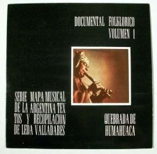 Buy DOCUMENTAL FOLKLORICO VOLUMEN 1 ~ Anastasio Quiroga / LP Argentina