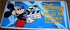 Buy Disney Mickey MGM Studios License Plate Ship World