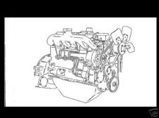 Buy WHITE ENGINE MANUAL for 3 4 & 6 Cyl Diesel HERCULES D 1500 D-128-ER & D-298-ER