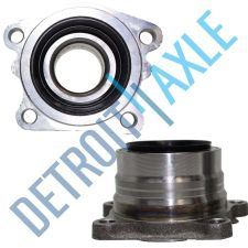 Buy Pair of 2 - NEW Rear Driver and Passenger Hub and Bearing Assembly AWD w/o ABS