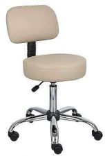 Buy Medical Chair Stool Lab Office Doctor Caressoft Furniture Dual Wheel Casters W/