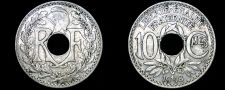 Buy 1918 French 10 Centimes World Coin - France
