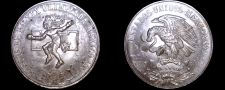 Buy 1968 Mexican 25 Peso World Silver Coin - Mexico Olympics