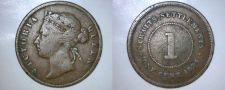 Buy 1894 Straits Settlements 1 Cent World Coin
