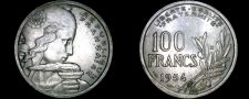 Buy 1954-B French 100 Franc World Coin - France