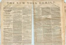Buy New York New York City Newspaper Title: New York Herald Date: Nov-11-1860~2