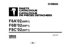 Buy Yamaha A68R300F Outboard Motor Parts & Views by download Mauritron #344042