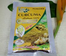 Buy Scrub Powder Spa Curcuma Herbal Natural Organic Original Facial Thai Arom Authen