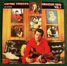 Buy CONWAY TWITTY ~ Conway Twitty's Greatest Hits / Vol I 1978 Country LP