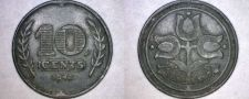 Buy 1942 Netherlands 10 Cent World Coin