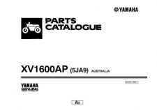 Buy Yamaha A5JA700E ATV Parts & Views by download Mauritron #344004