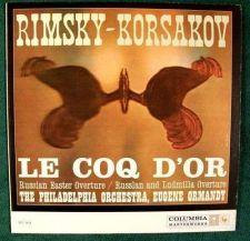 Buy RIMSKY-KORSAKOV ~ Le Coq D'or / Russian Easter Overture GLINKA Classical LP