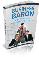 Buy Business Baron Ebook + 10 Free eBooks With Resell rights ( PDF )