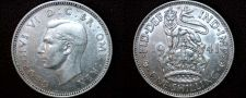 Buy 1941 Great Britain 1 Shilling World Silver Coin - UK