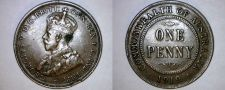 Buy 1919 Australian 1 Penny World Coin - Australia - Dot Below
